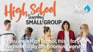 High School Sunday Small Group @ LCA Church - Suite 200