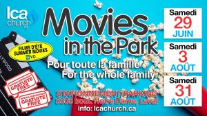 Movies in the Park #2 @ LCA Parking Lot