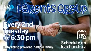 Parent's Small Group @ LCA Church - Suite 200