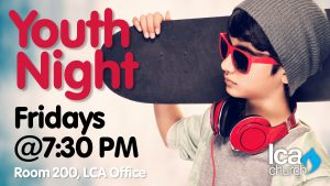 Youth Group @ LCA Church - Suite 200