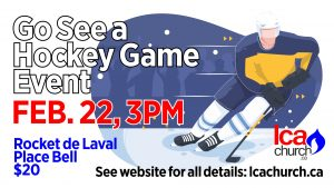 Go-See-A-Hockey-Game Event @ Place Bell